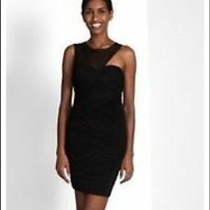 BCBGMAXAZRIA Rosalyn Little Black Dress XS